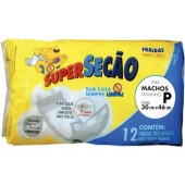FRALDA SUPERSECAO MACHO P