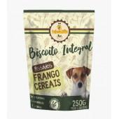 BRINCALHAO BISCOITO INTEGRAL FRANGO E CEREAIS 250G