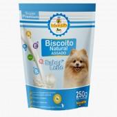 Biscoito 100% Natural para Cachorro - Sabor Leite