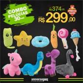Combo Promocional De Pelúcias