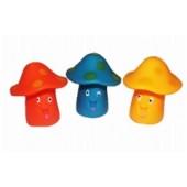 Brinquedo De Vinil Cogumelo 7 cm