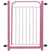 Portão Brincalhão Rosa 70cm Grátis Prolongador de 10cm